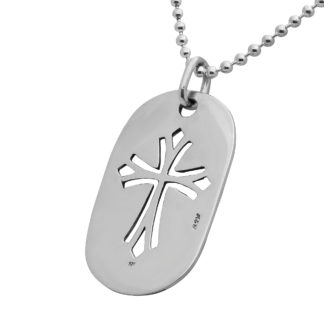 Sterling Silver Dog Tags