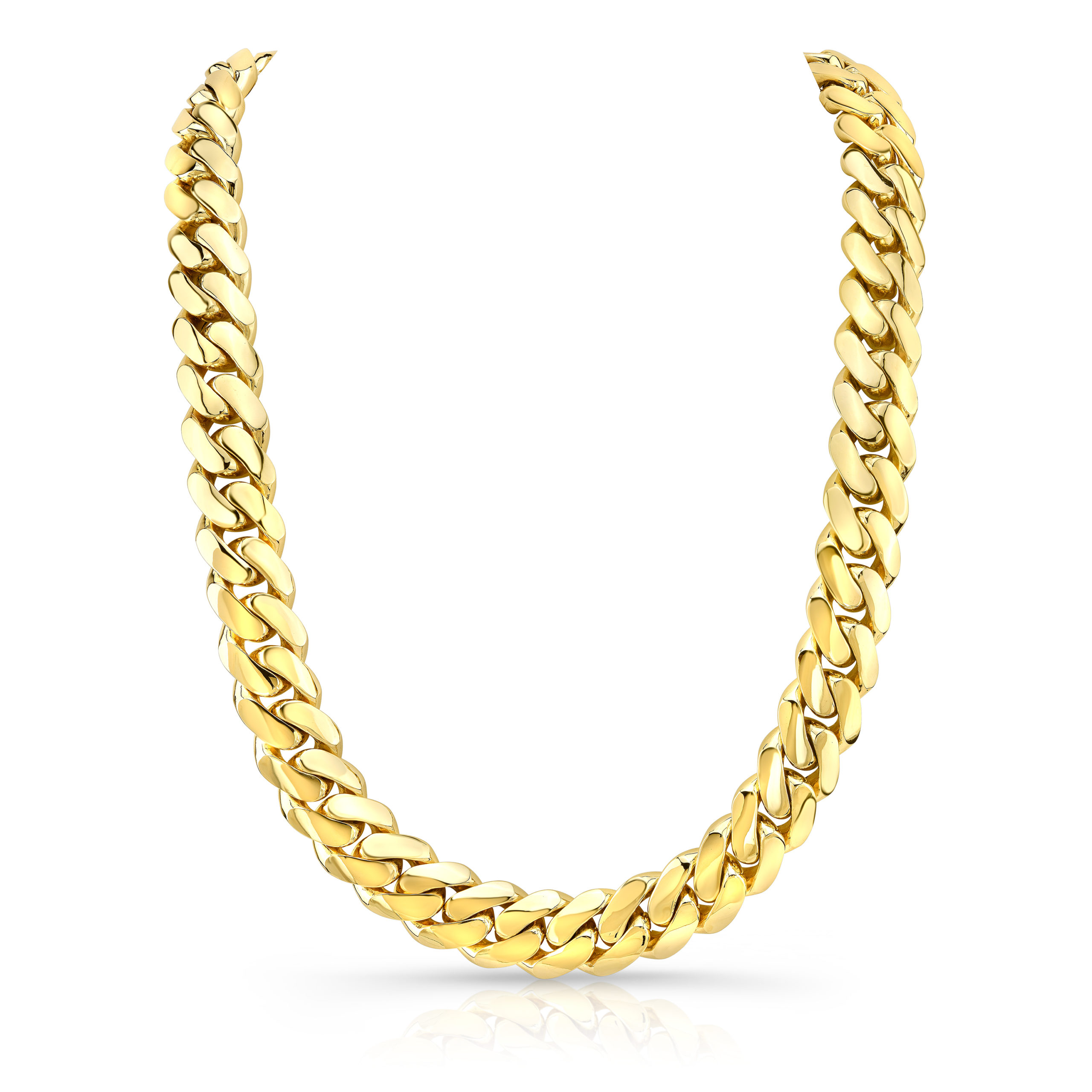 25mm Miami Cuban Link Chain