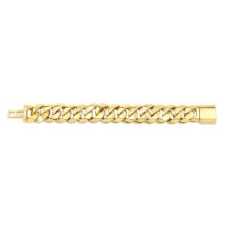 Gold Vermeil Cuban Link Bracelet 20.6mm