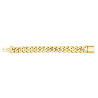16mm Cuban Link Gold Bracelet