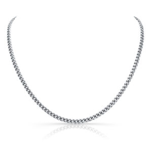 Sterling Silver Miami Cuban Link